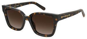 Marc Jacobs MARC 458/S Havana/Brown Shaded 53/19/140 Damen Sonnenbrillen