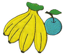 Patch Ecusson brodé thermocollant patche Banane Banana