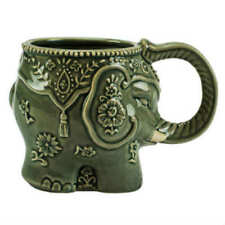 Boston Warehouse 16 Oz Stoneware Elephant Coffee Mug