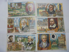 29024e Hartwig & Vogel Tell Kakao Automatenbilder Serie 136 Berühmte Dichter