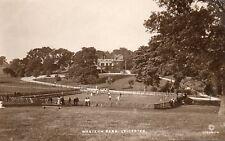 "Western Park - LEICESTER - Original Postcard ""Halford"" Series WD & S Ltd. (56)"