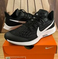 NIKE AIR ZOOM PEGASUS 36 GS Running Shoe Racer Black AR4149-001 Youth Women Size