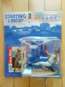 1997 BERNIE WILLIAMS STARTING LINEUP SLU BASEBALL NEW YORK YANKEES BASEBALL MLB