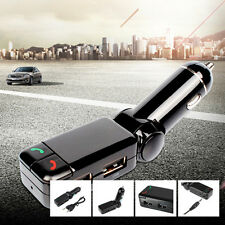 Car Bluetooth Wireless FM Transmitter MP3 Play Charger Handsfree Phone For BENZ