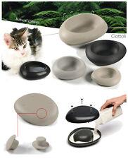 ciottoli by imac ciotola per acqua o cibo piccola 1 Lt cane o gatto 2 colori di