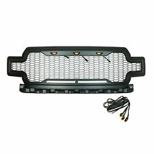 Paramount Impulse 41-0206MB Honeycomb Grille with LED Lights for 18 19 Ford F150