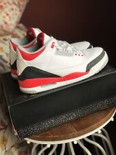 DS Nike Air Jordan 3 Fire Red 3 Shoes - Size 12 - Brand New With Receipt