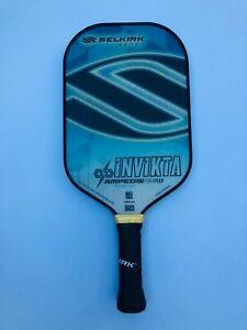 Selkirk Sport Pickleball Paddle Invikta AMPED Midweight Nationals Blue New