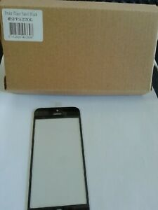 Front Glass Panel BlackiPhone 5C MSPP5220G