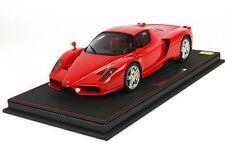 Bbr Ferrari Enzo Ferrari Red Corsa 322 1/18 Limited Edition 99 Leather Base