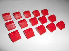Lego (3039) 15 techo piedras 45 ° 2x2x1, en rojo de 4956 6754 10223 7346 7679