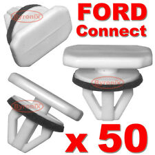 50 FORD TRANSIT CONNECT TOURNEO WHEEL ARCH TRIM CLIPS PLASTIC FRONT WING REAR