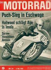 Motorrad 9 68 Bultaco Zündapp Zundapp Hainberg Jawa 1968 Spanien Deutschland CZ