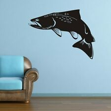 ONE LARGE FISH Wall Stickers LIVING Decal Removable Art BOYS Vinyl Decor DIY