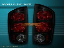 2002-2006 DODGE RAM 1500/2500/3500 TAIL LIGHTS DARK SMOKE 2003 2004 2005