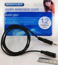 Audio 1.2 metros cable de extensión [funciona con CD portátiles, reproductores de MP3 y más]