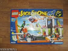 LEGO JACK STONE A.I.R. OPERATIONS HQ 4620~165 PC~NEW FACTORY SEALED
