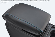 blue stitch FITS VOLVO V70 XC70 00-07 LEATHER ARMREST COVER ONLY