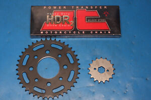 Keeway Superlight 125 carb model chain and sprocket kit JT heavy duty