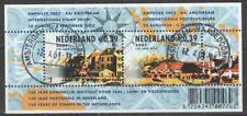Nederland NVPH 2010 Vel 150 Jaar Postzegels 2001 Gestempeld Amsterdam Haagedoorn