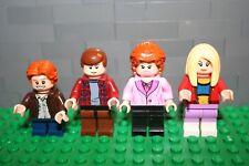 """Lego ® Figurenserie aus """"Eine schrecklich nette Familie"""" ™ 4 Figuren Set - MOC"""