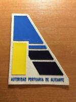 SPAIN PATCH POLICE POLICIA PORT ALICANTE ( VALENCIA )
