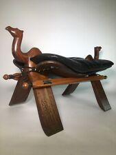 M. Hayat & Bros. Camel Saddle Foot Stool