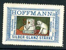 Reklamemarken Cinderella Poster stamps White Cat Hoffman's Kitty
