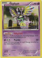 1 x Sigilyph - 52/124 - Holo Rare Pokemon BW - Dragons Exalted