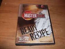 Master Cook Ready Recipe Easy Online Recipe Organization DVD ROM NEW