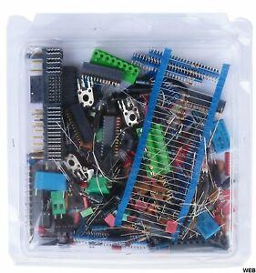 Kit componenti elettronici misti in blister