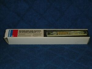 WALTHERS HO SCALE #933-1075 INTERIOR LIGHTING KIT FOR RIVAROSSI 60' 4-WHEEL CARS