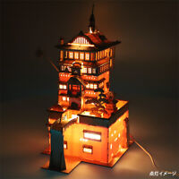 Studio Ghibli Spirited Away ki-gu-mi Aburaya 3D Wood Puzzle Japan