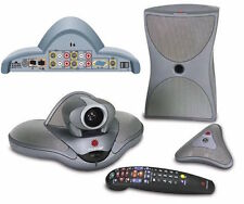 Polycom Vsx 7000 7000s Ntsc Video Conference With Vga Port Subwoofer Mic Remote