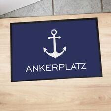 """Fußmatte """"Ankerplatz"""" Nordsee Ostsee maritime Fußmatte Meer Urlaub Anker"""