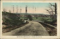Lowville NY From the South Postcard