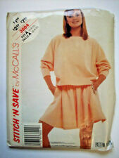 Easy pull on skirt top  pattern 3804 size  6 8 10 uncut