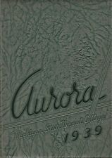 "1939 ""Aurora"" - Michigan State Normal College Yearbook - Ypsilanti, Mich."