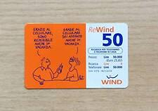 RICARICA TELEFONICA WIND - BATTUTA UMORISTICA BY PAT - 2002 - REWIND - 50 EURO