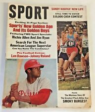 Vintage July 1967 SPORT Magazine Sandy Koufax Article Richie Allen Jim Ryun Fun