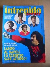 INTREPIDO n°12 1987 Garella Ramon Diaz Cindy Lauper Sergio Leone [G488]
