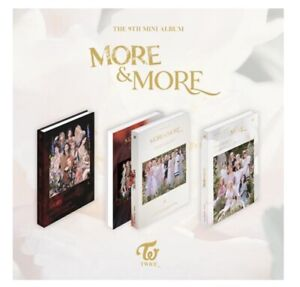 IN STOCK! TWICE [MORE and MORE] 9TH MINI ALBUM PREORDER BENEFITS KPOP SEALED