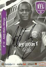 Addy-Waku Menga-VfL Osnabrück-stagione 2005/2006 - autografo cartolina