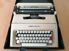 Olivetti Lettera 35 Antique Vintage Manual Typewriter with Case