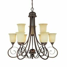Millennium Lighting 1059RBZ 9 light chandelier rubbed bronze