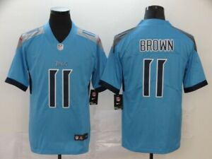 Tennessee Titans #11 Brown Men stitched jersey