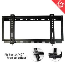 New listing Flat Slim Tv Wall Bracket Mount Bracket Lcd Led Plasma For 14to 42 inch