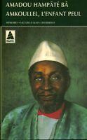 Livre de Poche Amadou Hampâté Bâ l'enfant Peul  book