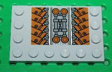 Lego Star Wars MdStone plaque 4x6+sticker ref 6180/set 7961 Darth Maul's Sith