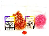 Wapsi Ice Chenille - Medium Size Fly Tyers Material -Choice of Color (1 Package)